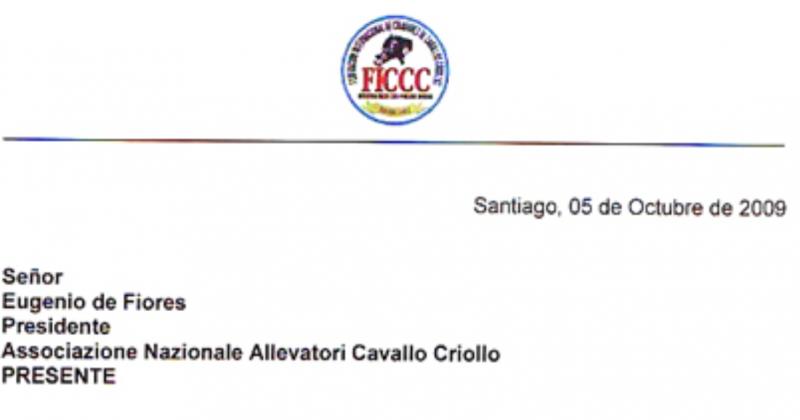 Riconoscimento FICCC